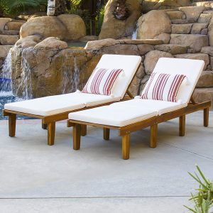 Best Choice Products Outdoor Patio Poolside Furniture Set Of 2 Acacia Wood Chaise Lounge.jpg
