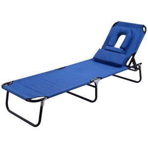 Goplus Folding Chaise Lounge Chair Bed Outdoor Patio Beach Camping Recliner w Hole for face Pool Yard.jpg