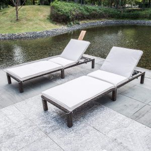 MAGIC UNION Patio Adjustable Wicker Chaise Lounge with Cushions Sets of 2.jpg